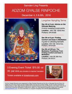 Adzom Gyalse Rinpoche